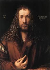 """Albrecht Dürer, """"Self Portrait"""", 1500"""